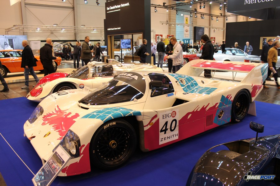 1987 Porsche 962 C. 2,8 л, 750 л.с. при 7200 об/мин (давление наддува 1.4 бар)
