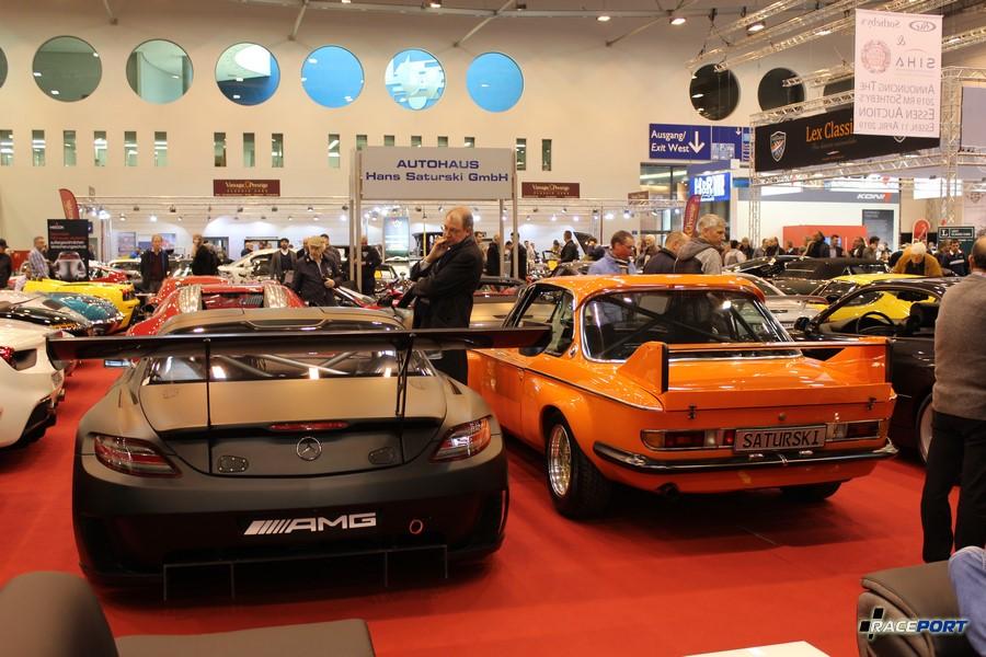 MB SLS и BMW E9