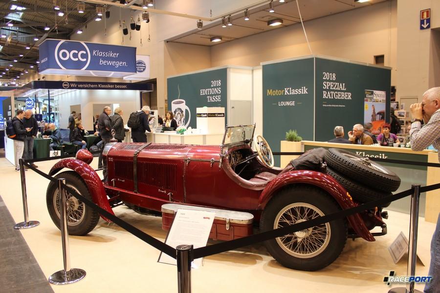 Mercedes-Benz SSK 1929 г. в. 6 цил., 7.0 литров, 140-200 л. с.