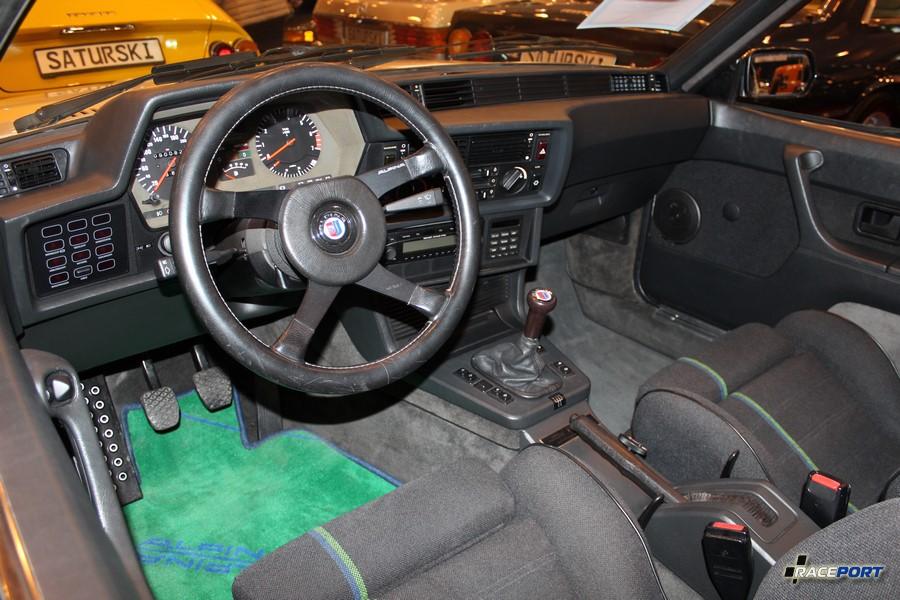 Alpina E24 interior