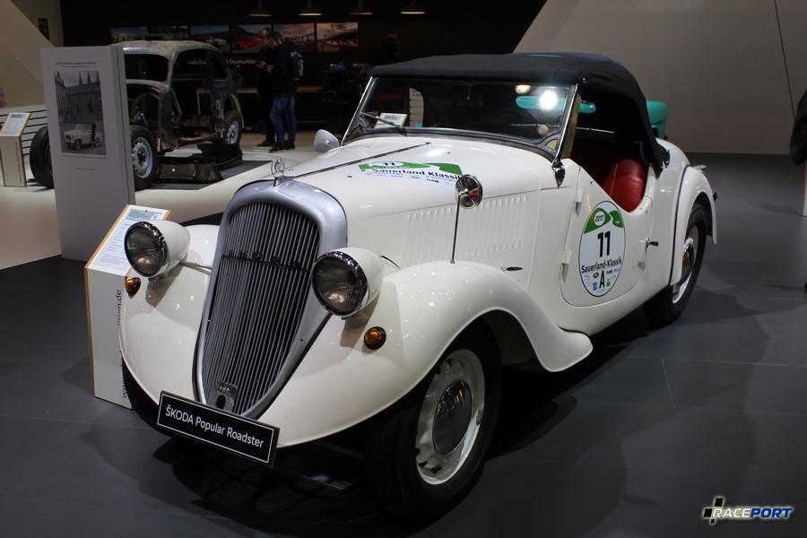 Skoda Popular OHV Roadster 1938