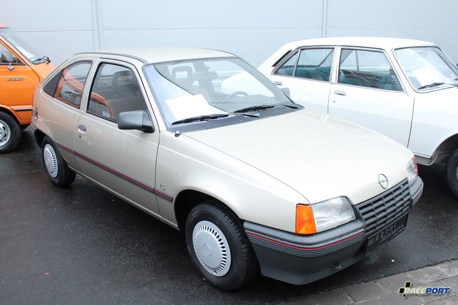 1987 Opel E Kadett LS 1.6 D; 54 Hp; 4500 Km; 8 900 Euro