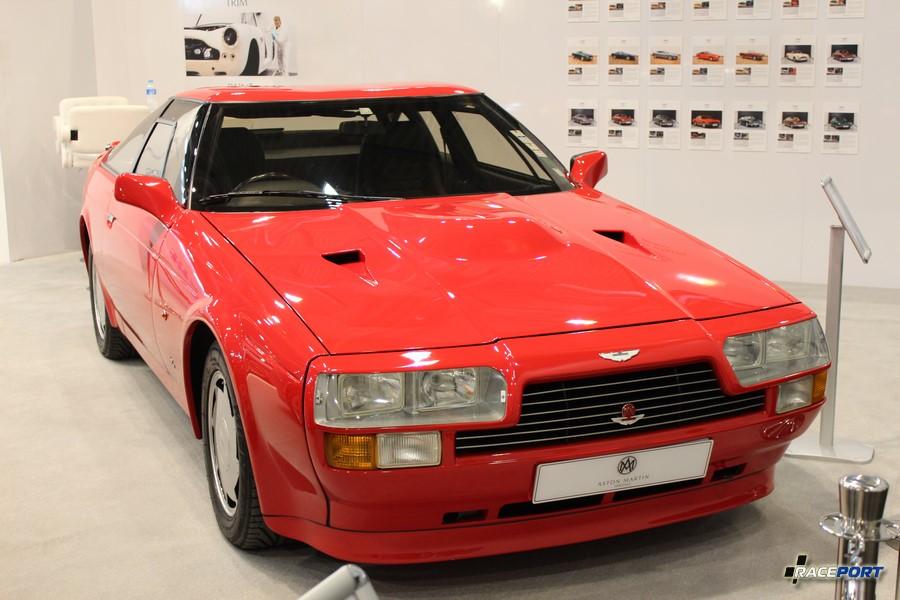 1988 г. в. Aston Martin AMV8 Vantage Zagato. Цена... барабанная дробь 786 870 Euro. На выставки их было двое.