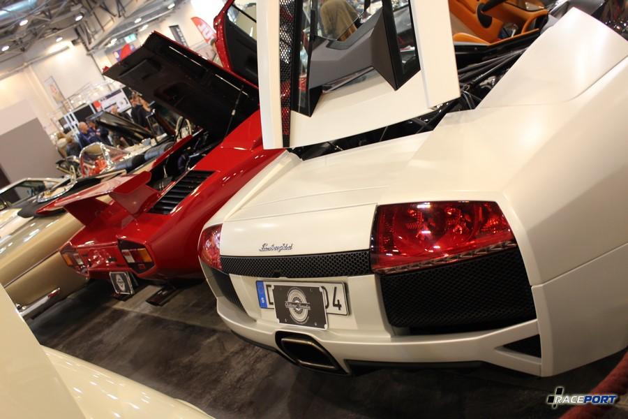 Lamborghini Countach and Murcielago