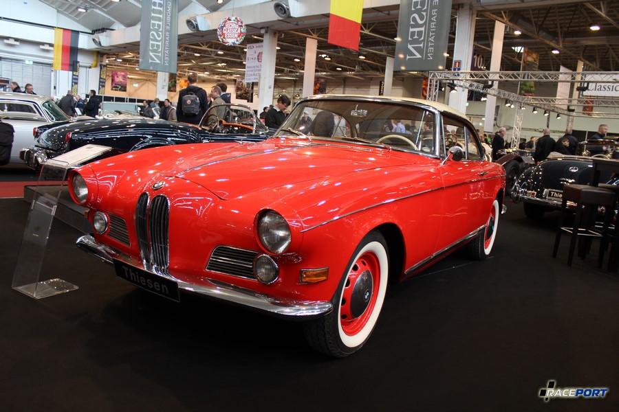 BMW 503 Coupe, Serie I 1956 г. в. Цвет: Rot Creme, номер шасси 69013, Алюминиевый кузов, двигатель 3,2 л, 140 л. с.