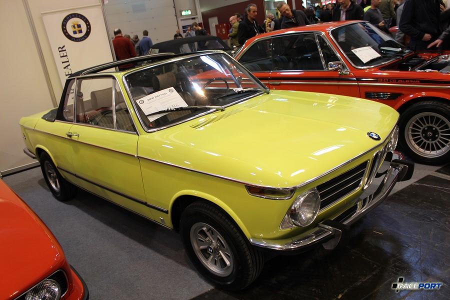 BMW 2002 Targa Baur 1973 г. в. 100 л. с. 42 500 Euro