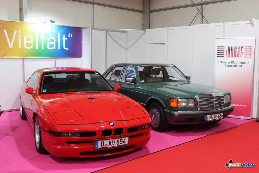BMW 850CSi E31 & Mercedes-Benz W126