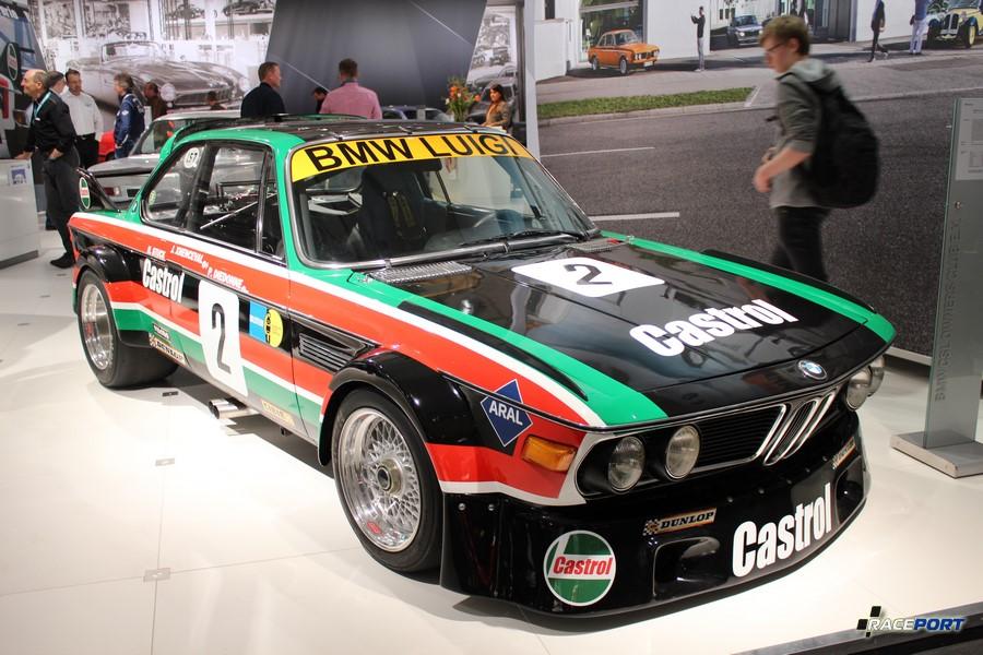 BMW E9 CSL Racing Version В этом году автомобилям BMW в кузове E9 исполняется 50 лет.