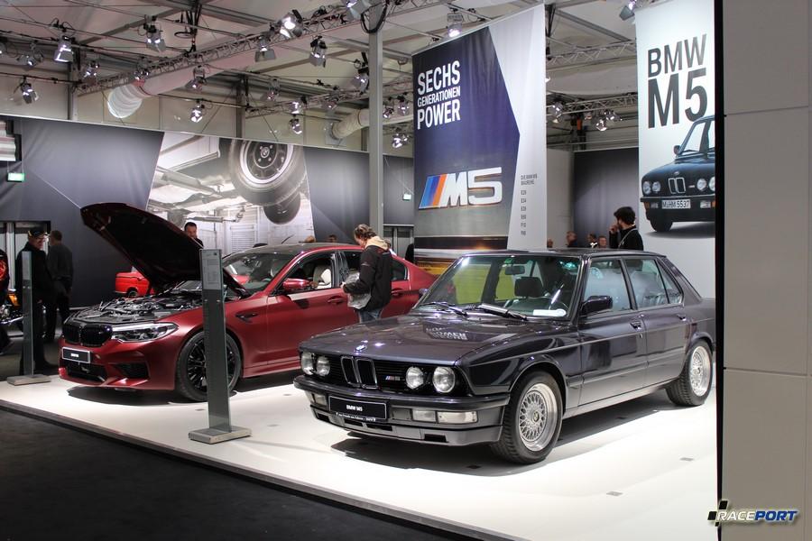 BMW M5 F90 и M5 E28