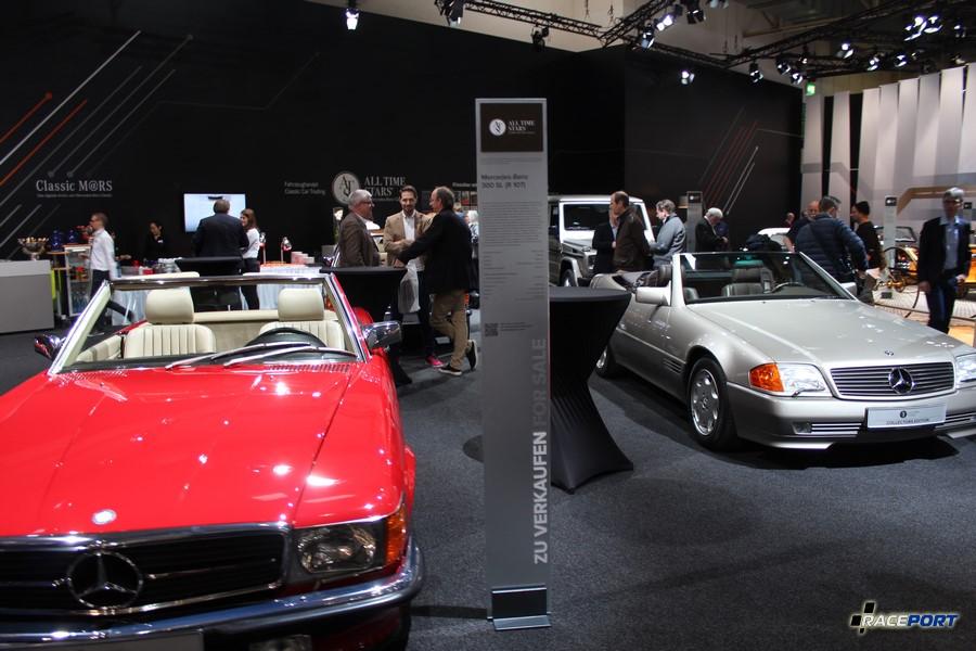 Mercedes Benz 300 SL (W107) и Кабрио (W129)