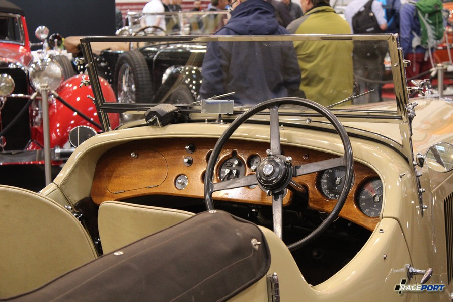1935 г. в. Bentley 3 1/2 Litre Open Tourer by Corsica