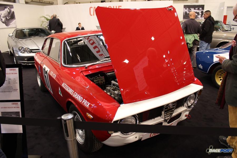 Alfa Romeo Giulia GTA 1600 Corsa 1965 г. в. 170 л.с. 760 кг