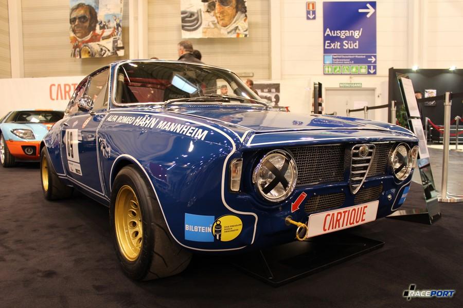 Alfa Romeo Giulia GTA 1600 Corsa 1969 г. в. 170 л.с. 760 кг 220 км/ч