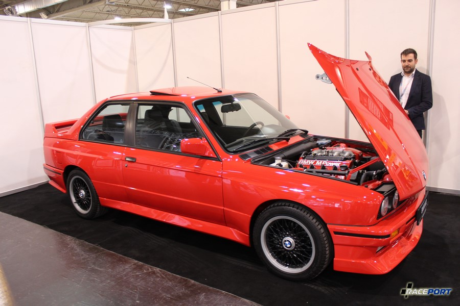 BMW E30 M3 Cecotto 1989 г.в. (№ 029 из 505). 215 л.с. 6750 об/мин Опция S795 M3 Special edition `89