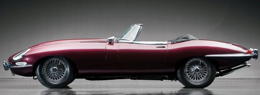 Jaguar E Type Cabrio ранняя модель, разницы гораздо меньше