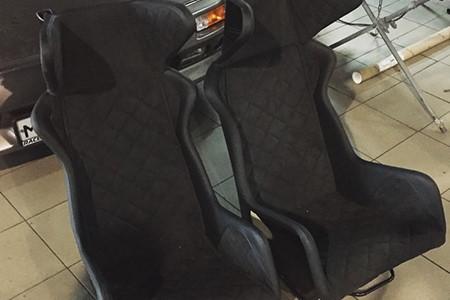 Готовые сидения на Noble перед монтажом