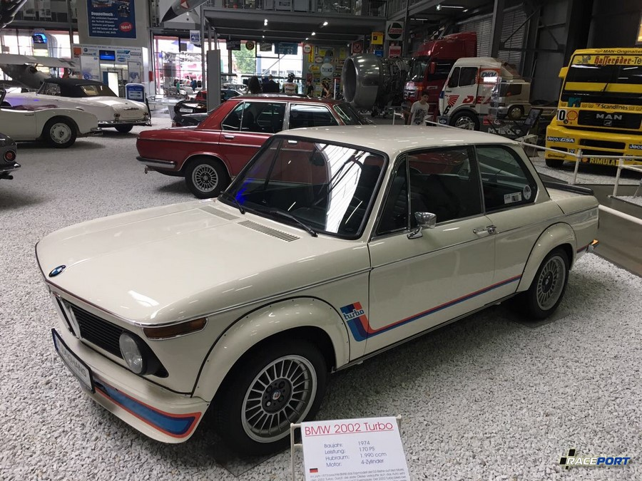 BMW 2002 Turbo, 1974 г.в.