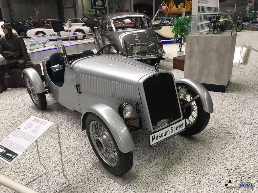15 сильный BMW 3/15 1929 г.в. Объем двигателя 749 куб. см
