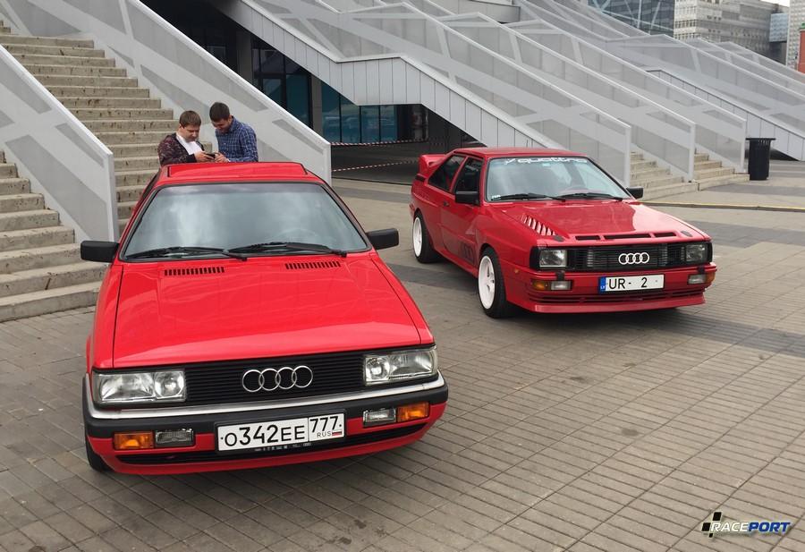 Пара Audi S1 Quattro