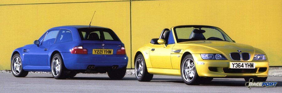BMW Z3M Coupe E36/8 & BMW Z3M Roadster E36/7