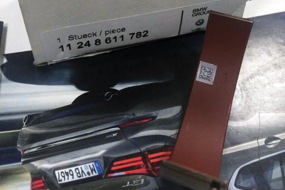 055 Красные вкладыши коленчатого вала BMW