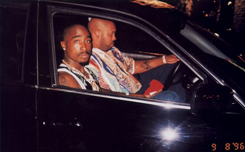 Tupac Shakur BMW 7er E38