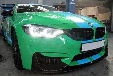 <span>Проект: № 00099</span> BMW F82 M4 Competition