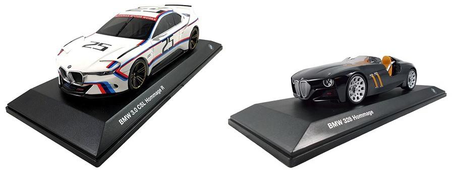 BMW miniaturen diecast scale 1:18