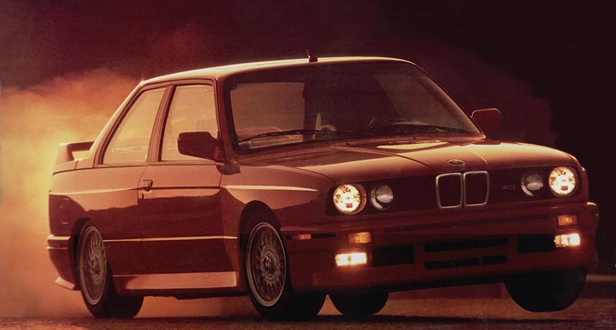 BMW M3 Sport Evolution E30