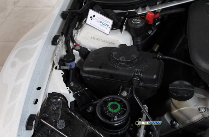 raceport bmw e92m3 steering fluid