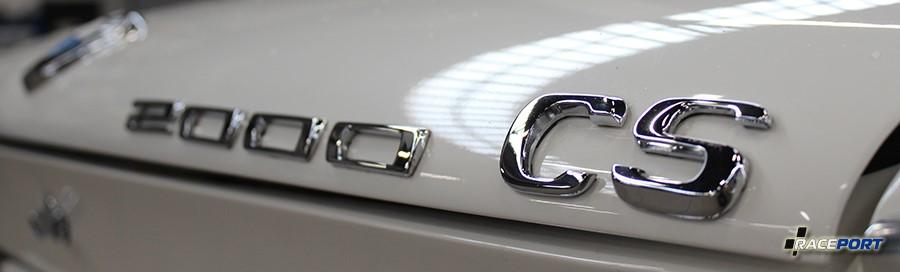 bmw 2000cs emblem rear