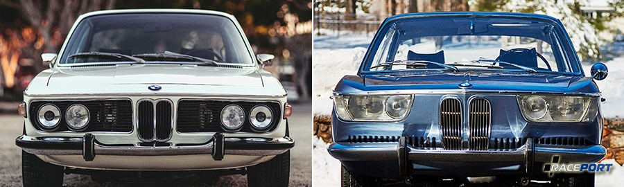 BMW E120 2000cs vs BMW E9 3.0 CSL