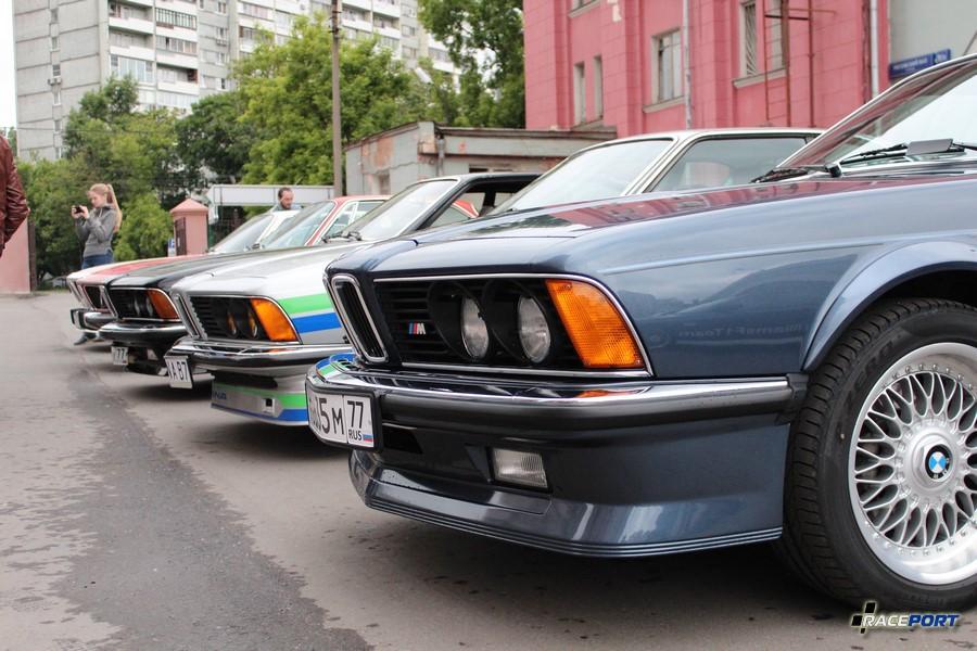Шестерки BMW E24