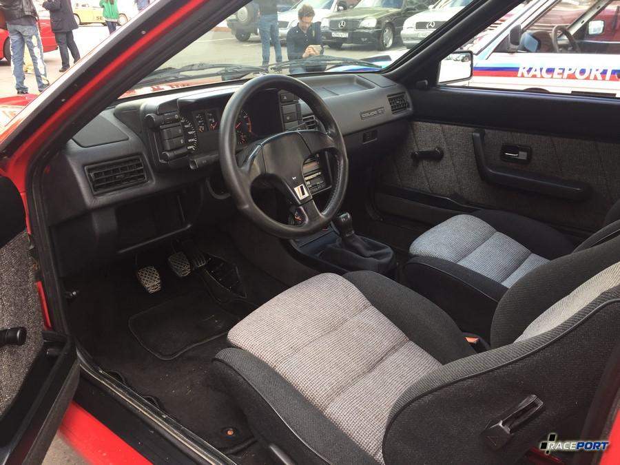 Audi Quattro interior