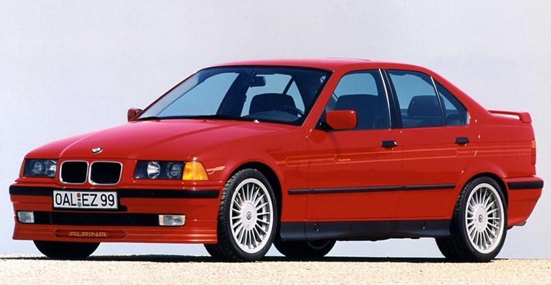 Alpina 3 серии в кузове E36 модель B8 с двигателем 4,8 V образной восьмеркой