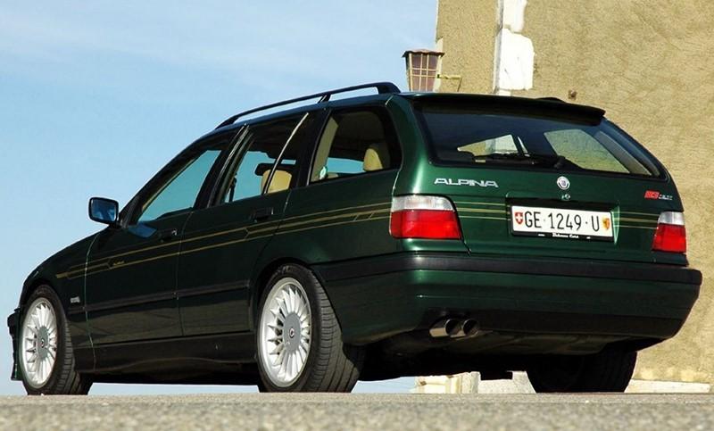 Alpina 3 серии в кузове E36 Touring модель B6 с двигателем 3,2