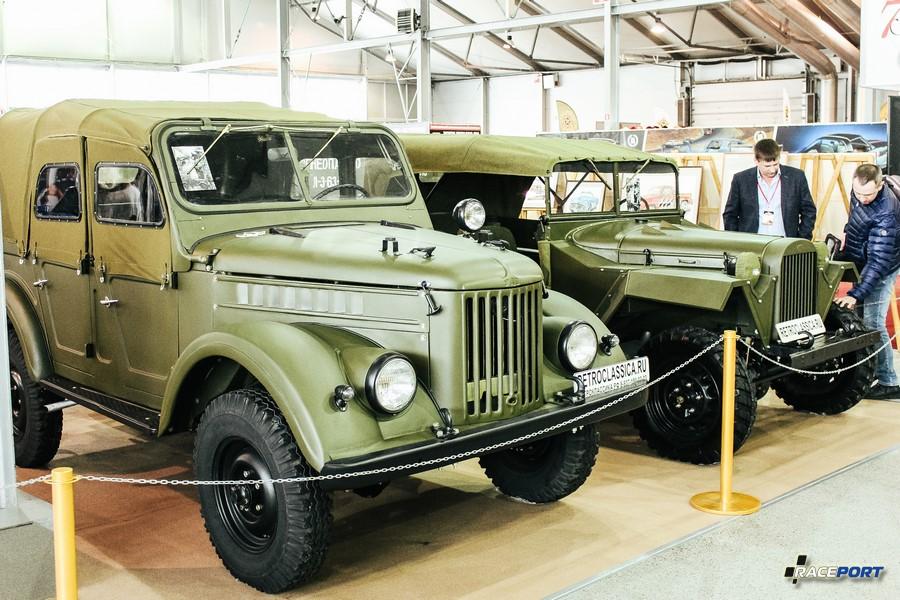 Солдаты ветераны. На переднем плане ГАЗ-69 1953 г.