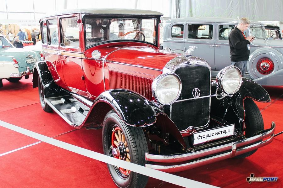 Studebaker President 8 1928 г. в. в то время стоил 2450$ выпущено 8800 экземпляров