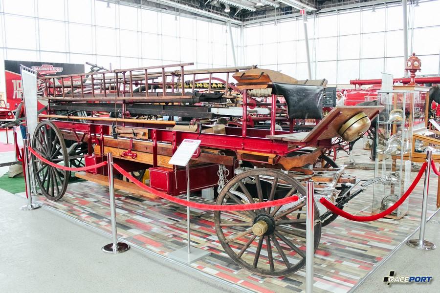 Повозка с лестницей и баграми США, конец 19 века