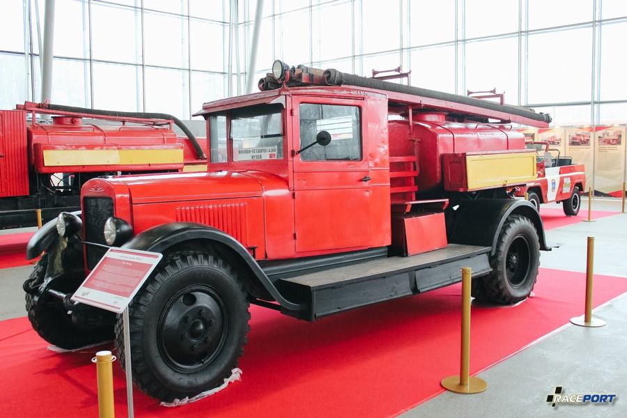 Автоцистерна ПМЗ-2 СССР 1936 г.