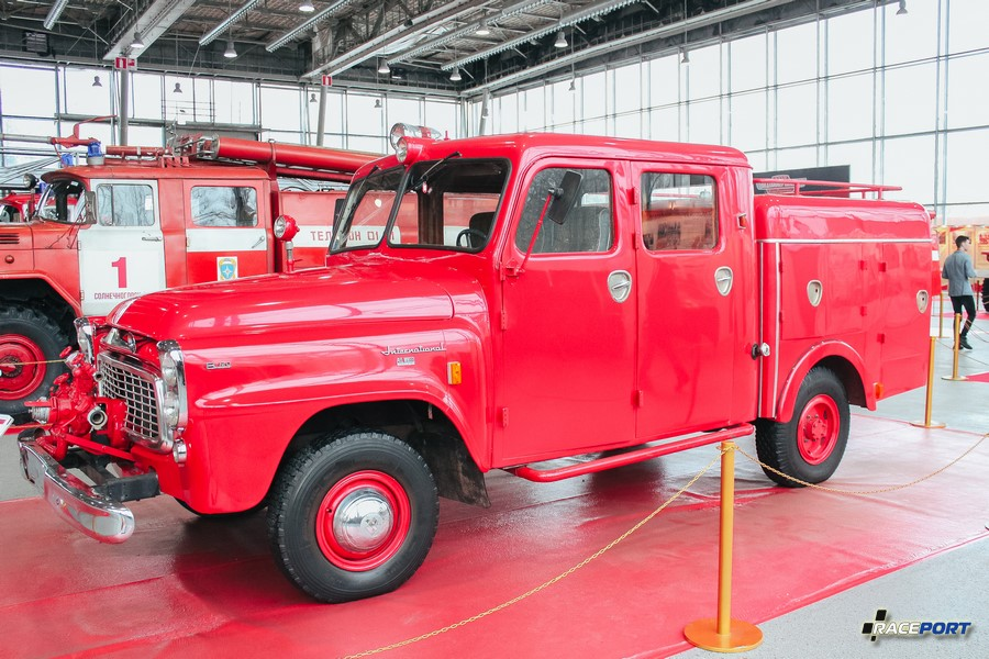 International Harvester B120 1960 г. Швеция
