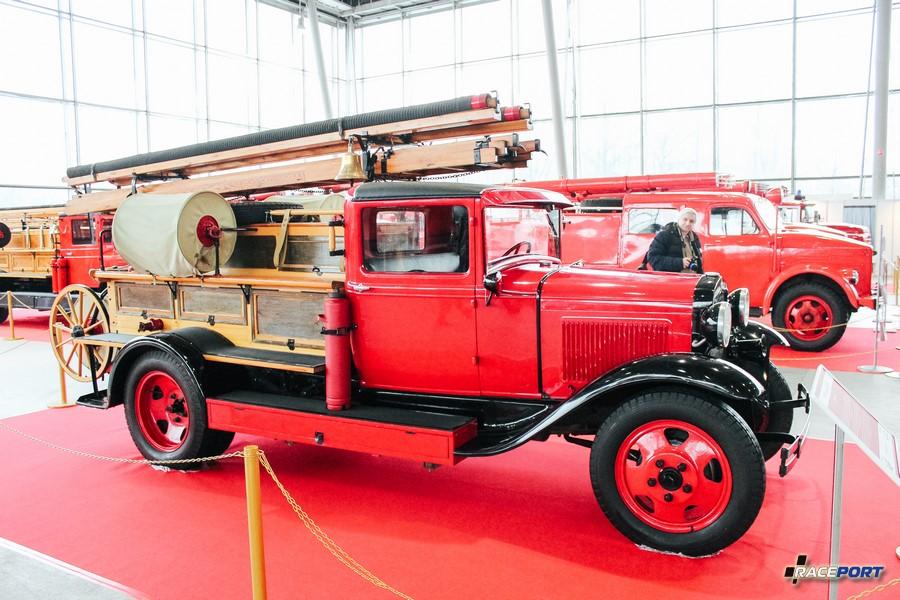 Автоцистерна ПМЗ-2 1936 г. СССР