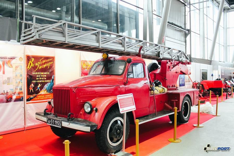 Автолестница АЛГ-17 (51А) модель ЛЧ 1963 г. СССР