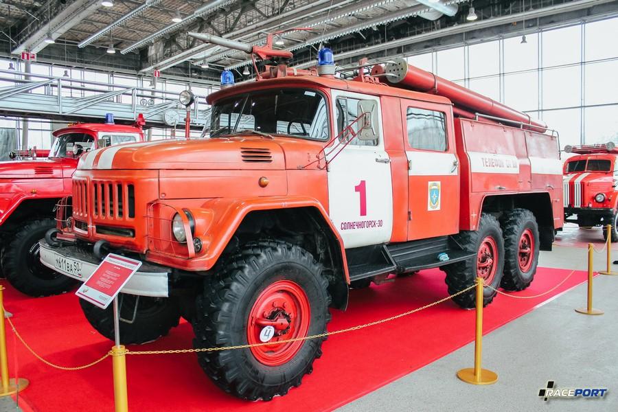 Пожарная автоцистерна АЦ-40 (131) 137 СССР 1969 г.