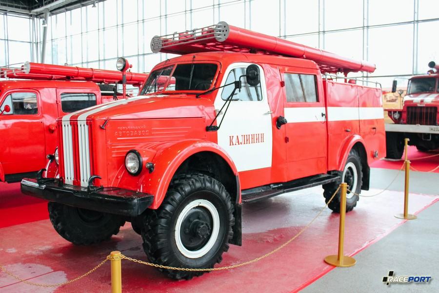 Пожарная автоцистерна АЦП-20 (63) 19М СССР 1963 г.