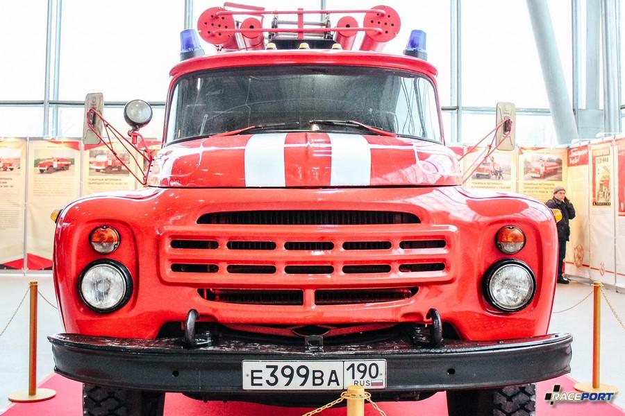 Пожарный насосно-рукавный автомобиль АНР-30 (130) 127Б СССР 1993 г.