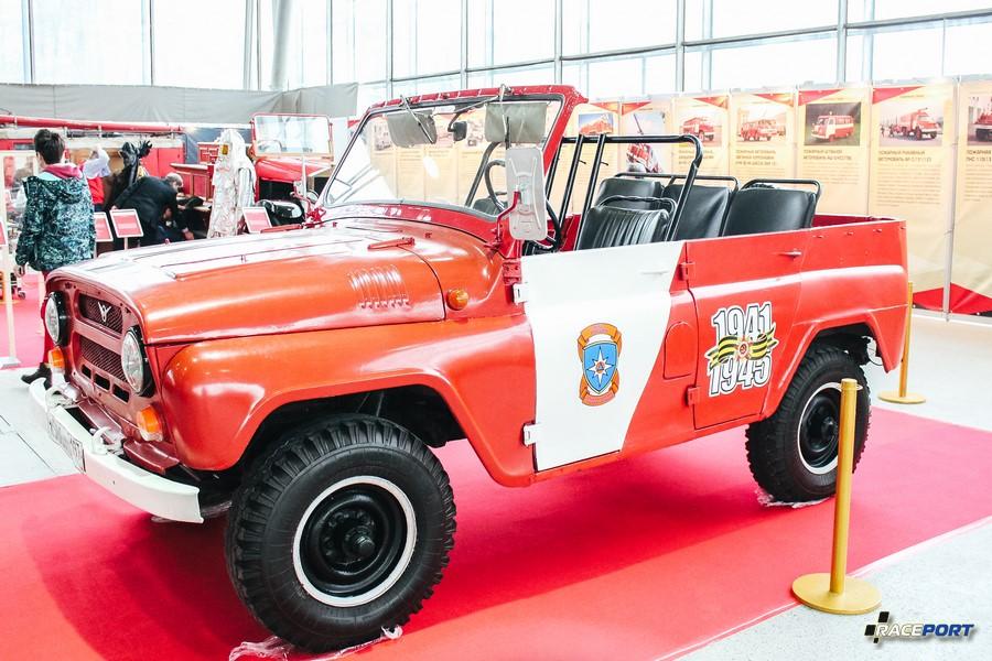 Пожарный УАЗ 469 СССР 1980 г.