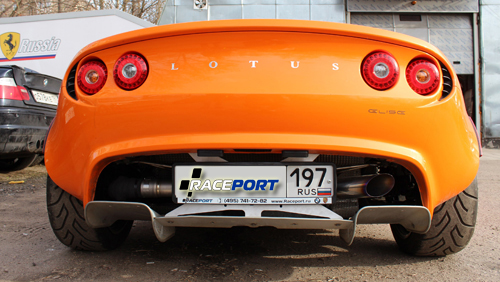 <span>Проект: № 00035</span> Lotus Elise