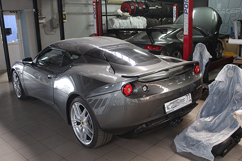 <span>Проект: № 00057</span> Lotus Evora