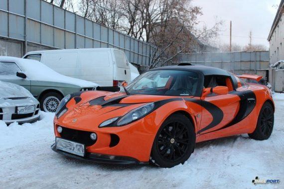 <span>Проект: № 00069</span> Lotus Exige S